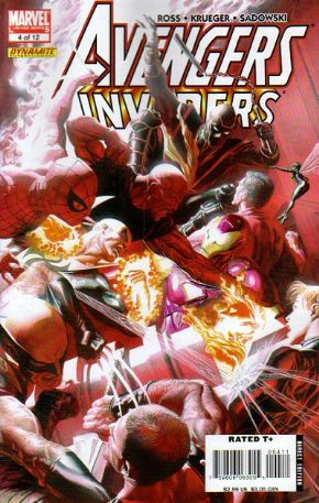 Avengers Invaders #4 (2008) Marvel comic book